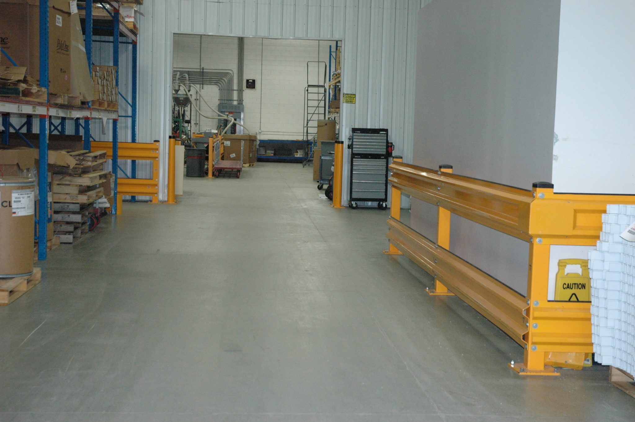 Warehouse Guardrail
