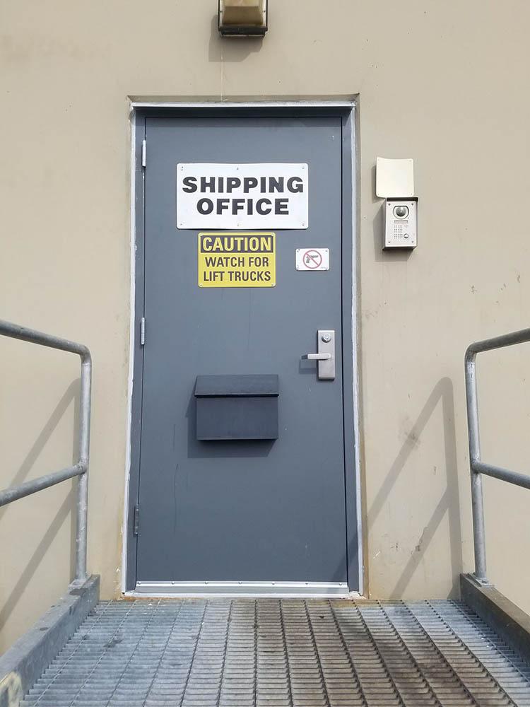 PEDESTRIAN DOORS