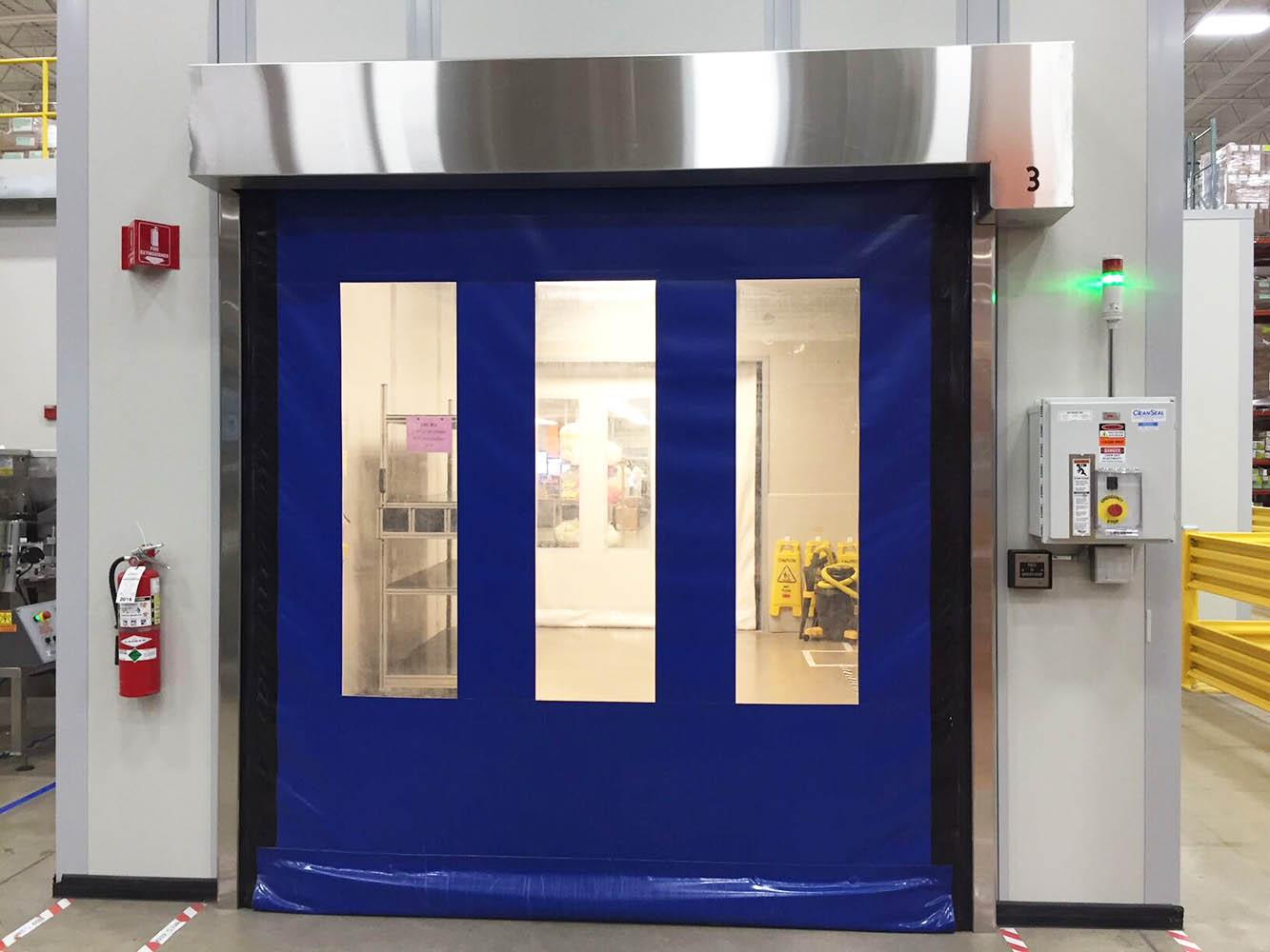 high speed security door