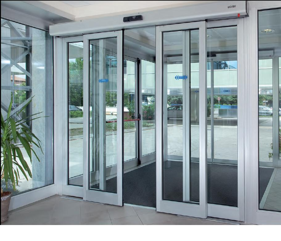 Automatic Sliding Door Installation